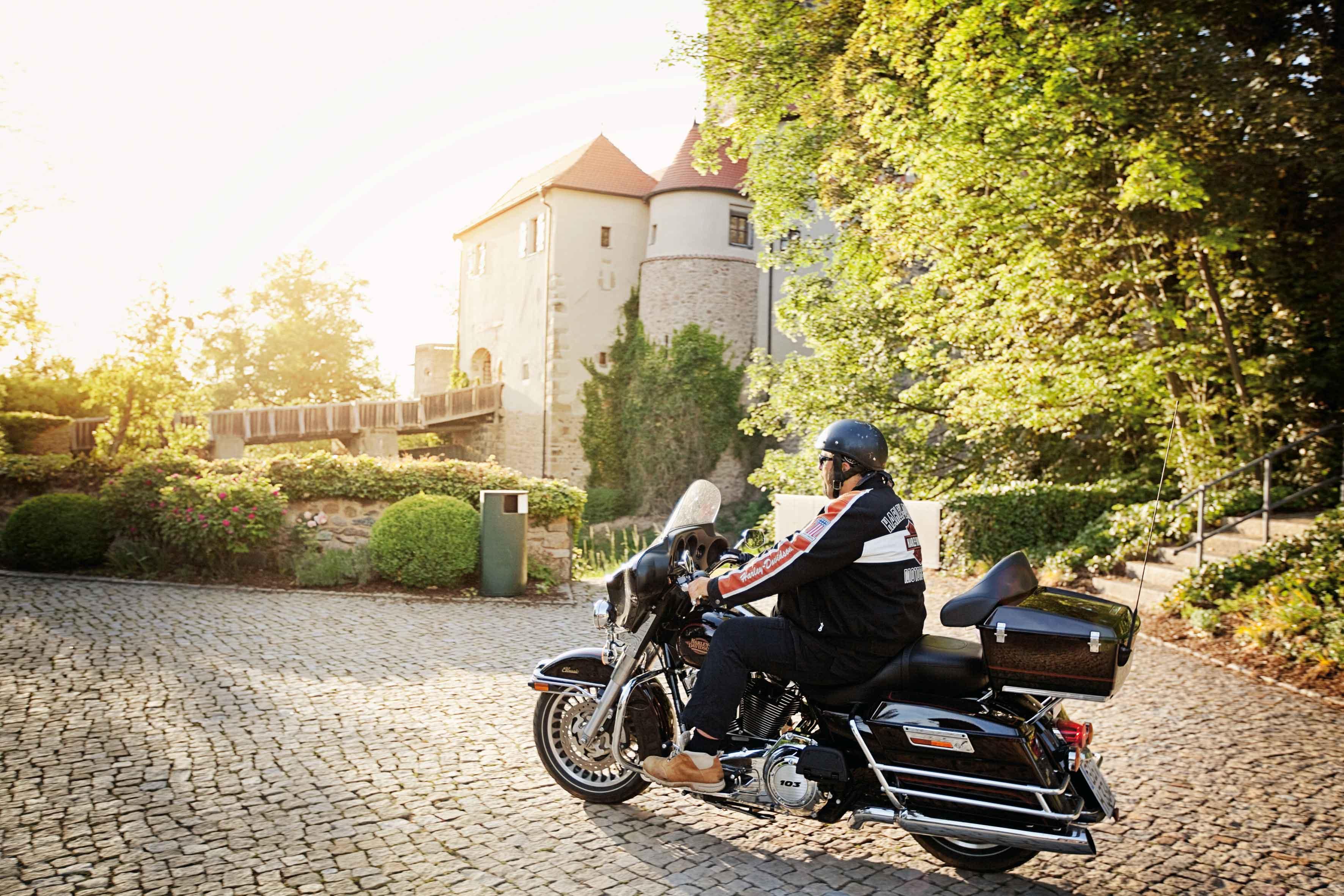 Ankunft Burg Wernberg