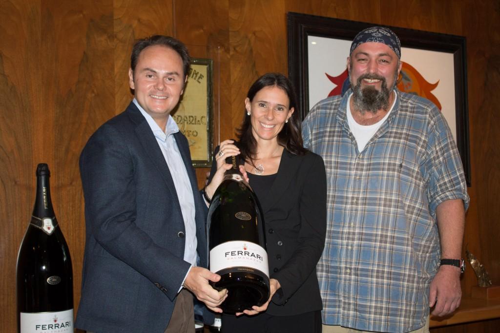 Mateo und Camilla Lunelli mit Kitchenrocker
